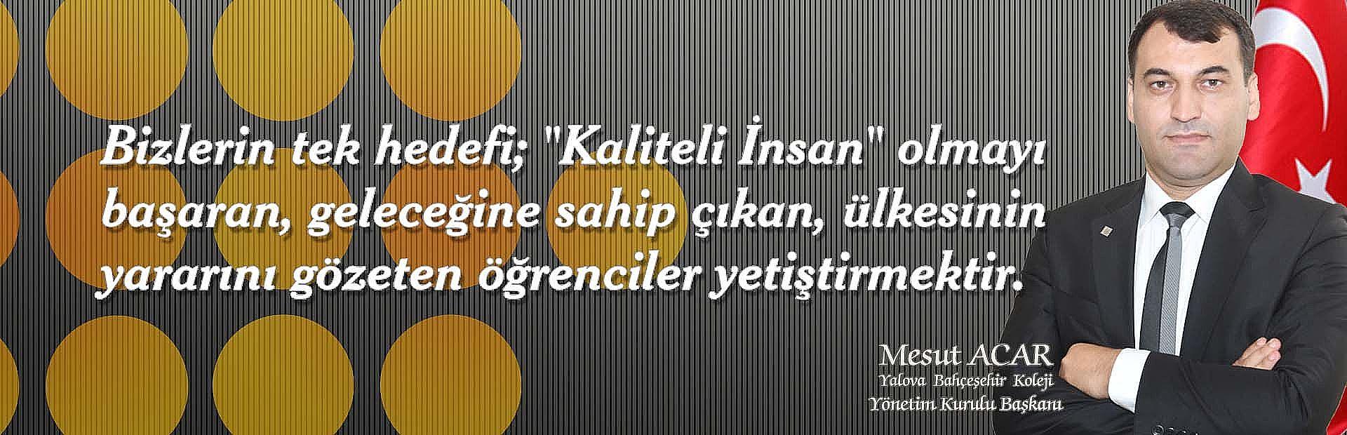 Yalova Bahçeşehir Koleji Adres - Telefon - Konum Bilgileri