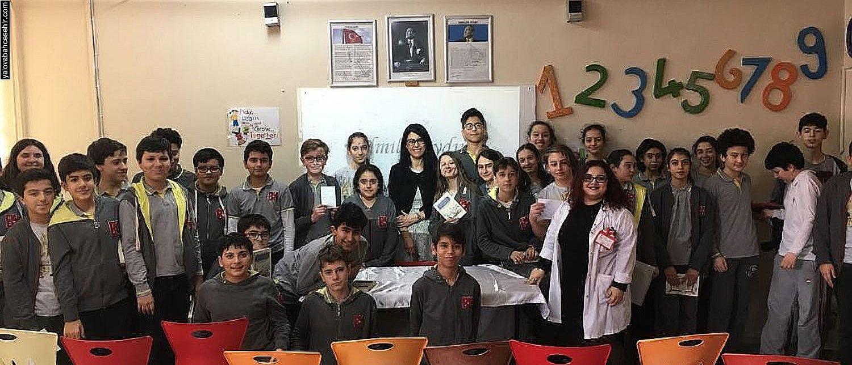 Almila AYDIN Öğrencilerimizle Buluştu